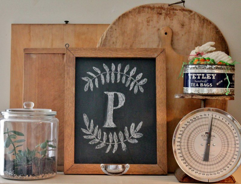 oak-framed-chalkboard