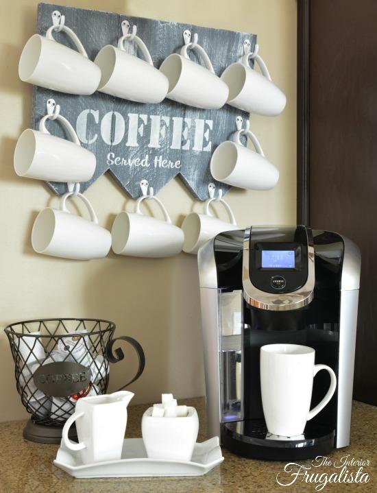 Coffee Mug Hanger UpdateW