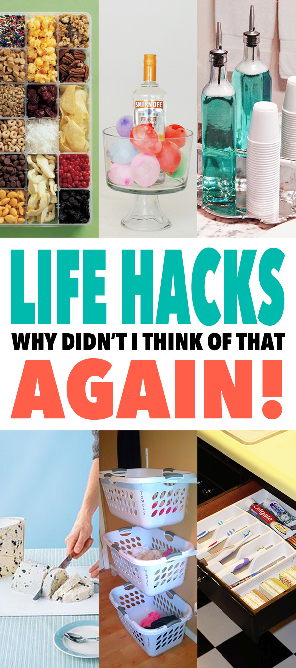 Life Hacks Why Didn\'t I Think Of That Again! - The Cottage Market