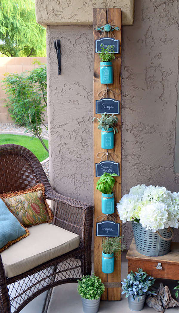 Marvelous Mason Jar Herb Gardens Page 3 Of 9 The