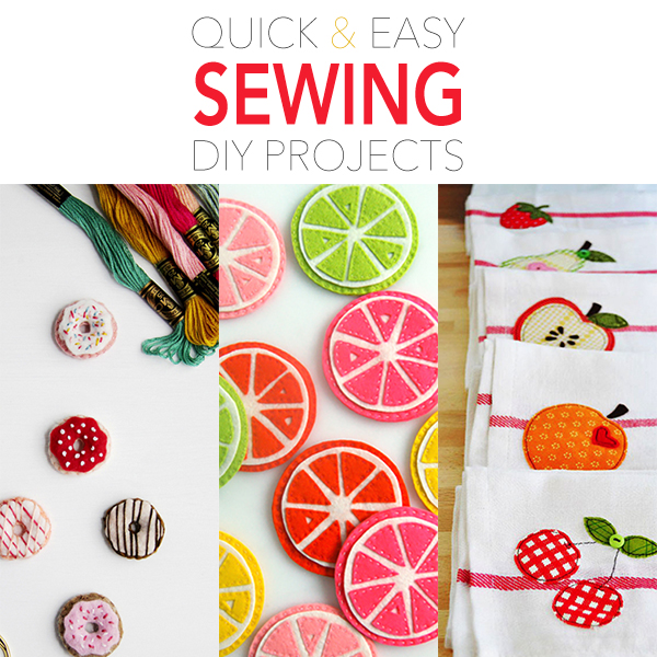 Quick and Easy Sewing DIY Projects - Page 4 of 12 - The ...