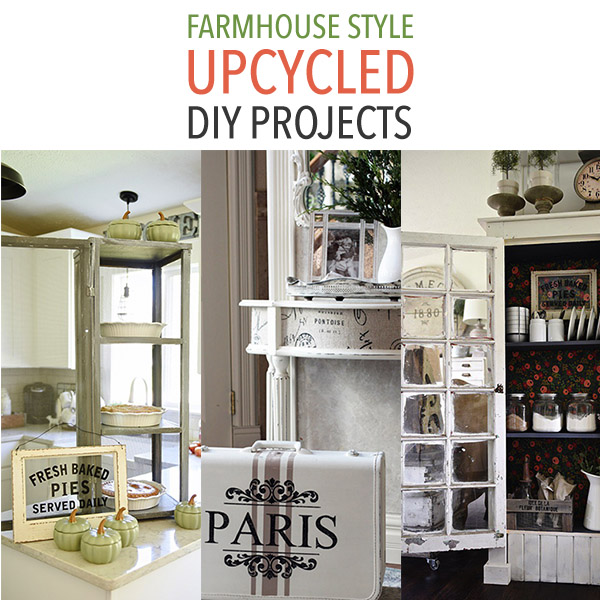 Farmhouse Style Upcycled Diy Projects The Cottage Market