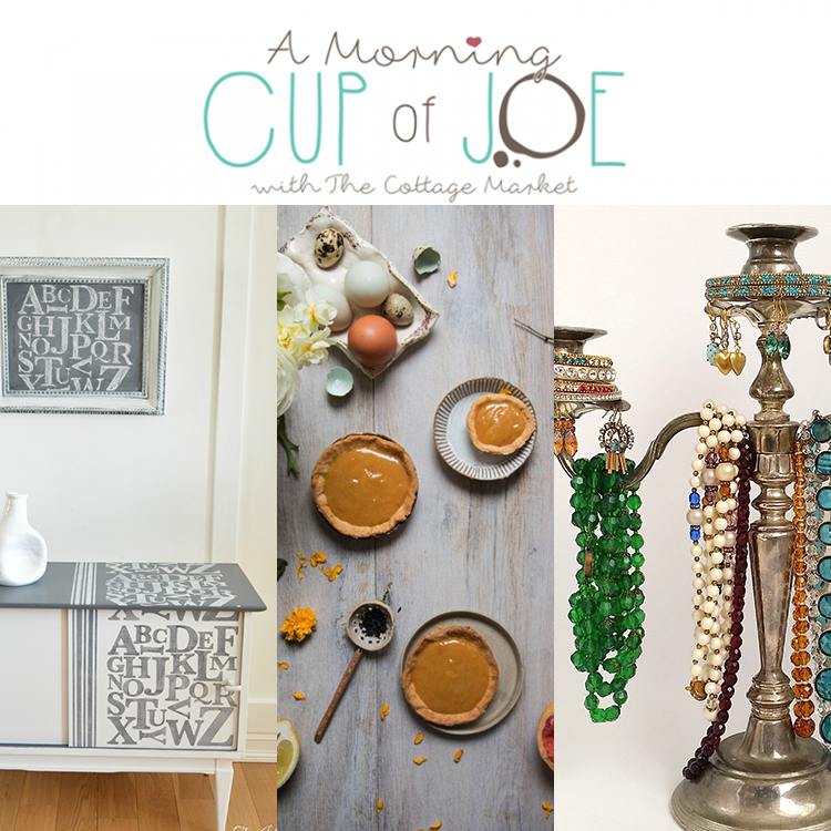 A Morning Cup of Joe DIY Projects, Features & Linky Party