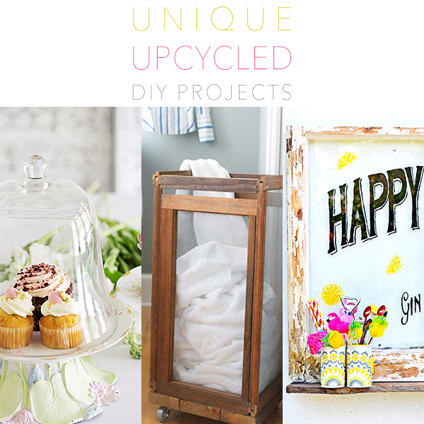 Unique Upcycled DIY Projects