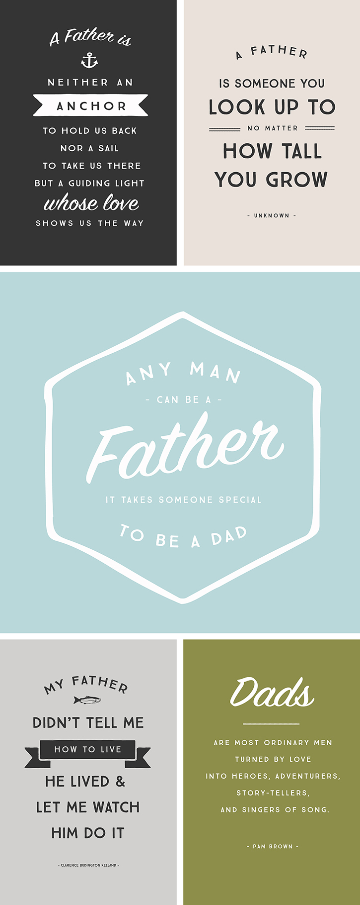 Father S Day Free Printables The Cottage Market