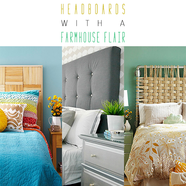 DIY Headboards with a Farmhouse Flair