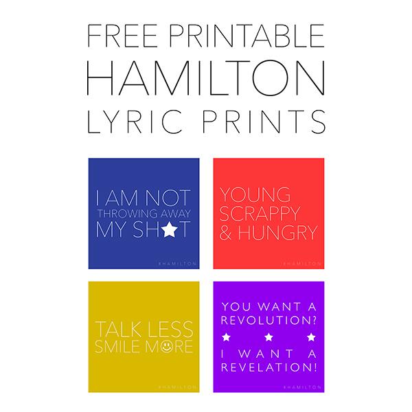 Juicy image inside hamilton lyrics printable