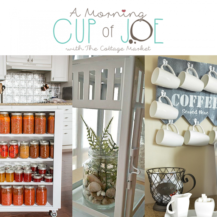 A Morning Cup of Joe DIY Project, Features, Linky Party