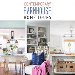 Contemporary Farmhouse Home Tours
