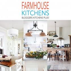 Farmhouse Kitchens, Blogger's Kitchens