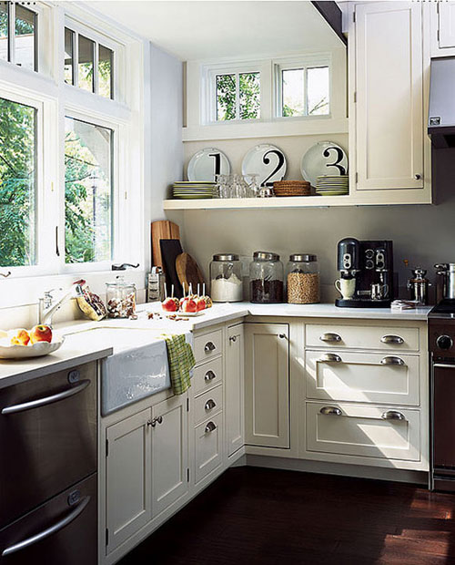 farmhouse kitchens, blogger's kitchens - the cottage market