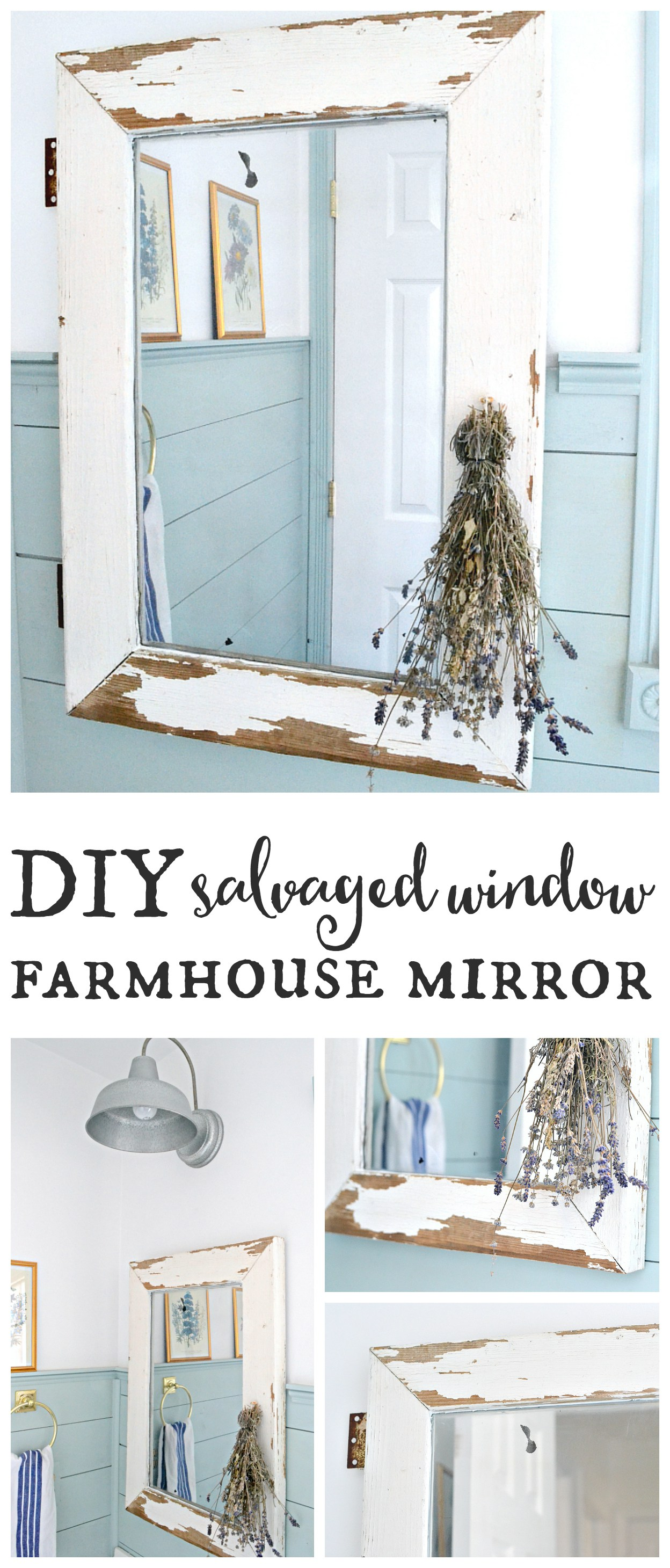 Salvaged-window-farmhouse-mirror.-Turn-a-salvaged-window-into-a-farmhouse-mirror-in-just-a-few-easy-steps-Find-it-on-theweatheredfox.com_