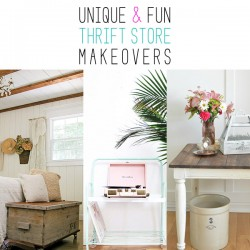 Unique and Fun Thrift Store Makeovers