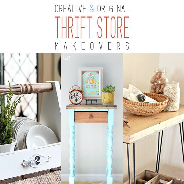 Creative and Original Thrift Store Makeovers