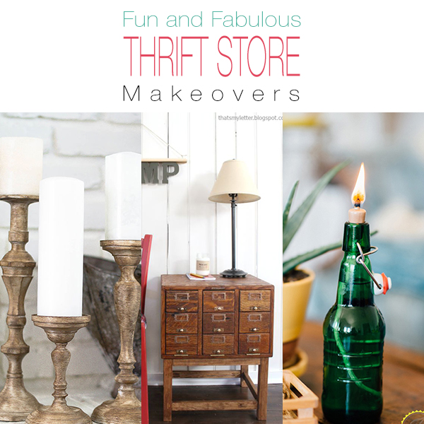 Fun And Fabulous Thrift Store Makeovers The Cottage Market