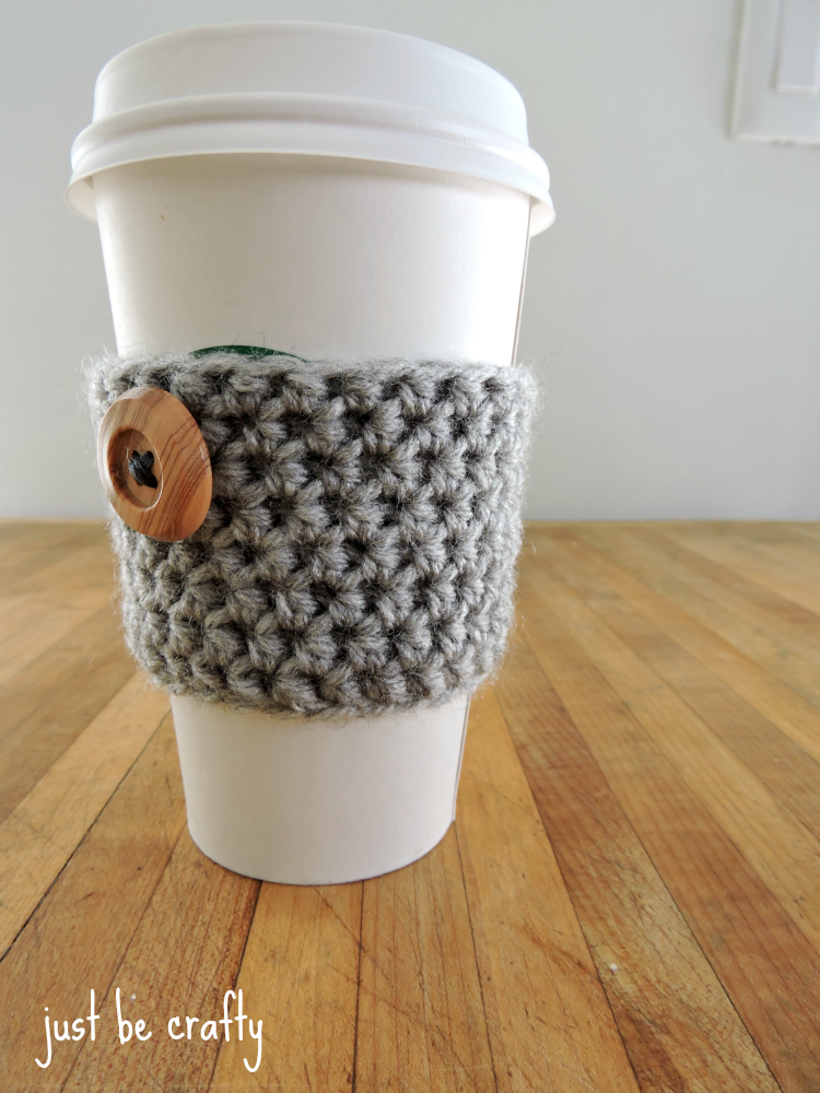 20 Free Crochet Coffee Cozy Patterns Page 2 Of 4 The Cottage Market