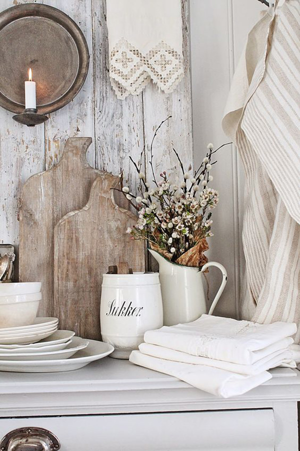 French Country Wall Decor Kitchen : Inspirational farmhouse fall vignettes page of