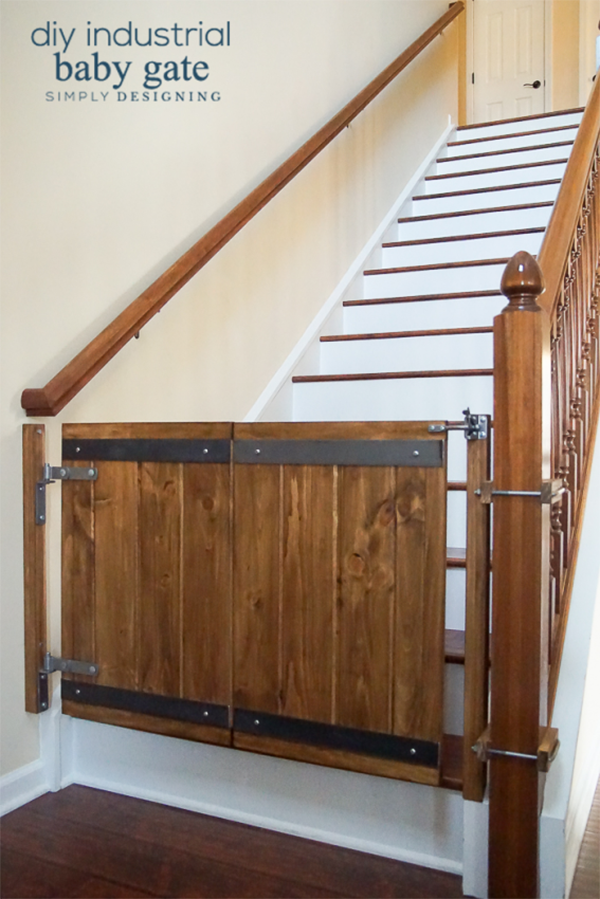 What 39 s happening this week in farmhouse diy page 7 of 10 for Wooden stair gate ikea