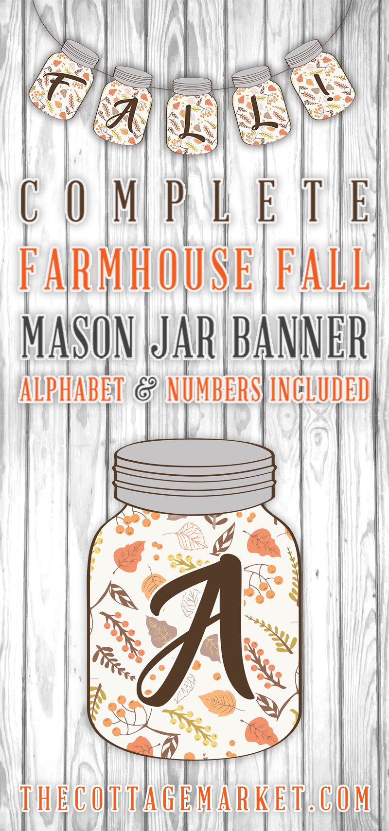 It's just an image of Impertinent Fall Banner Printable