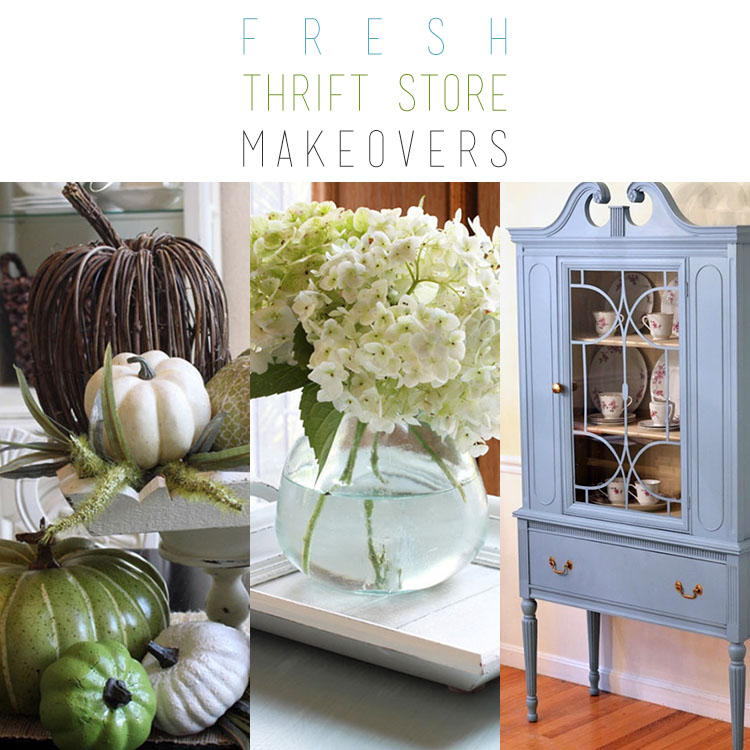 Fresh Thrift Store Makeovers