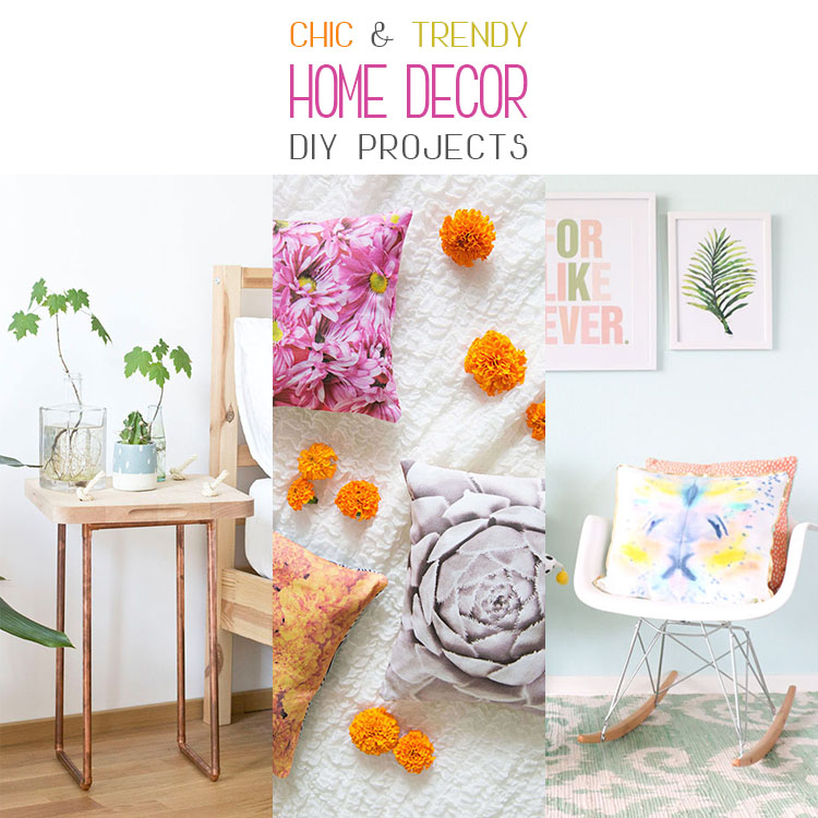 Chic and Trending Home Decor DIY Projects
