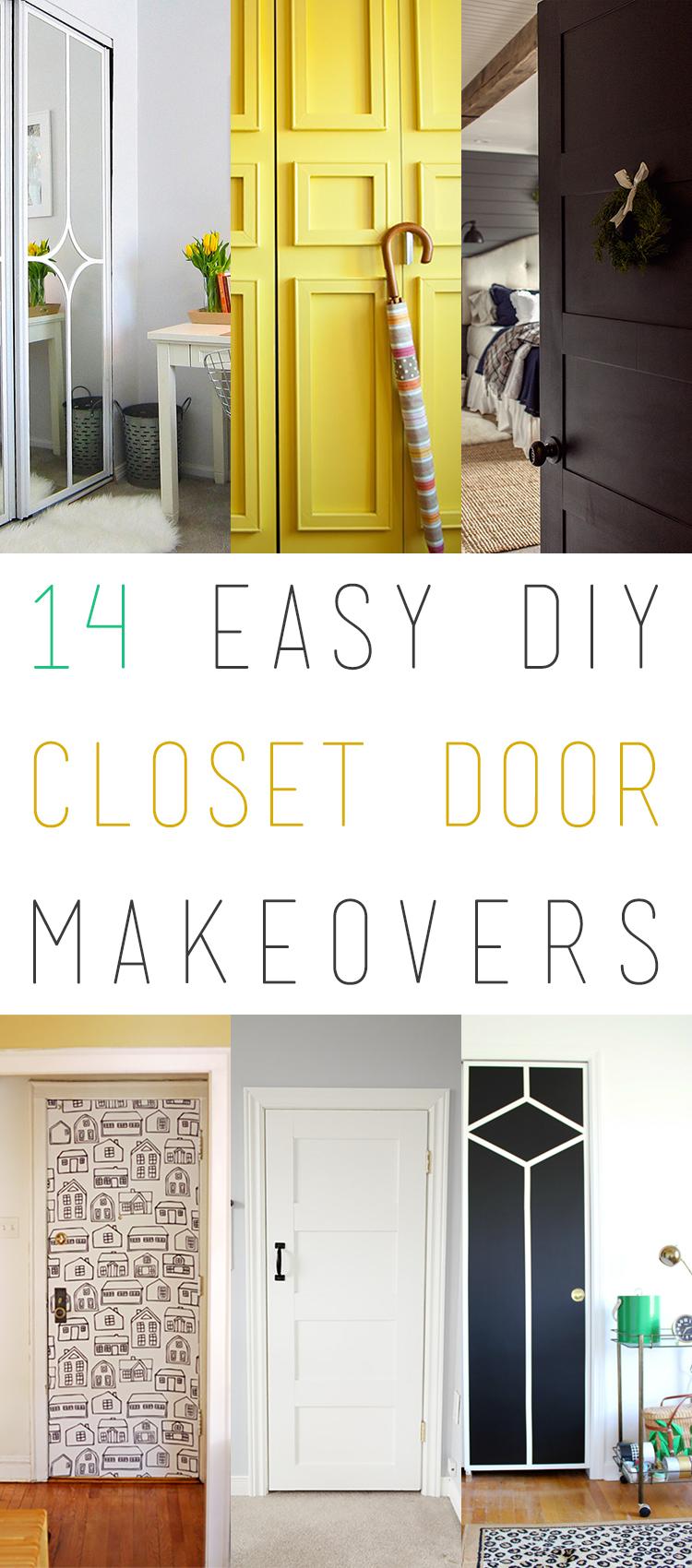 14 Easy Diy Closet Door Makeovers The Cottage Market