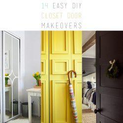 14 Easy DIY Closet Door Makeovers