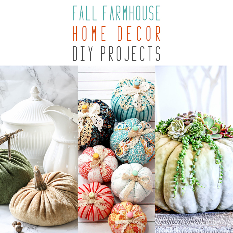 10 Fall Farmhouse Home Decor DIY Projects