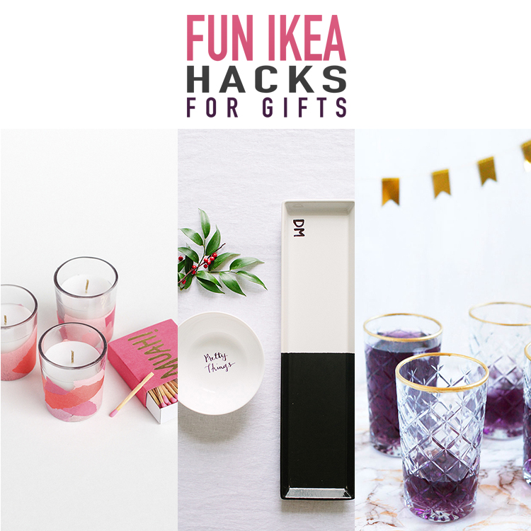 10 Fun IKEA Hacks for Gifts & Home