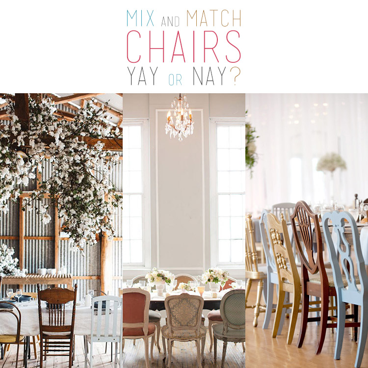 15 Mix and Match Chairs Yay or Nay?