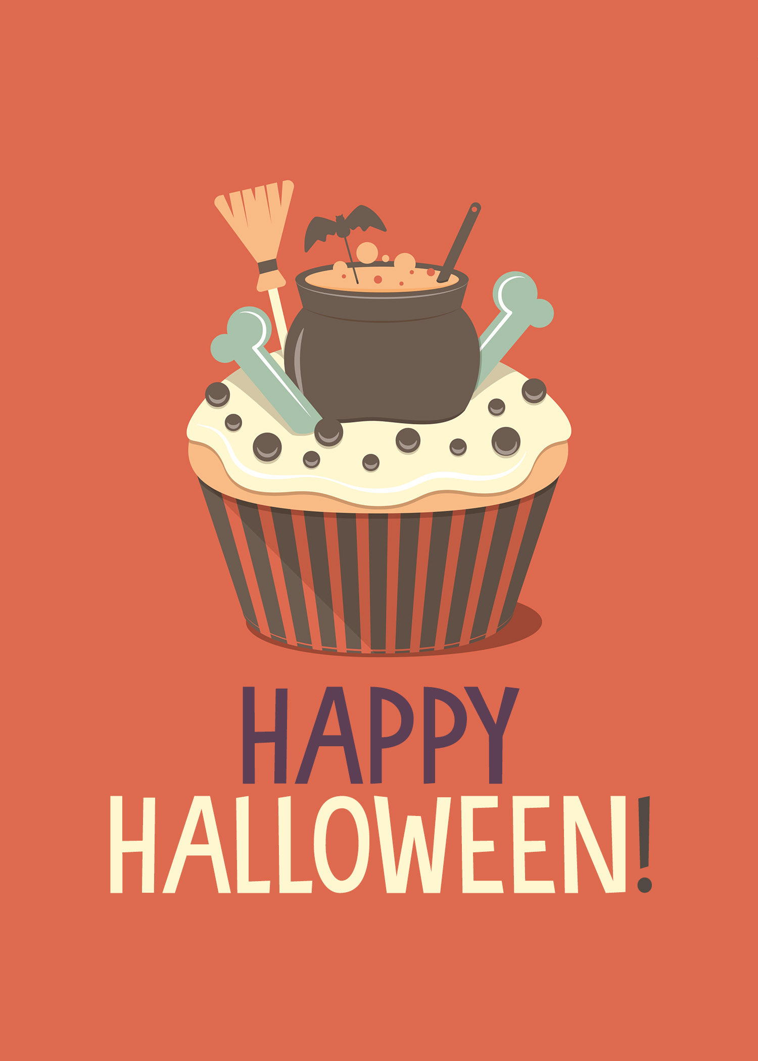 Free Printable Halloween Cupcake Prints The Cottage Market
