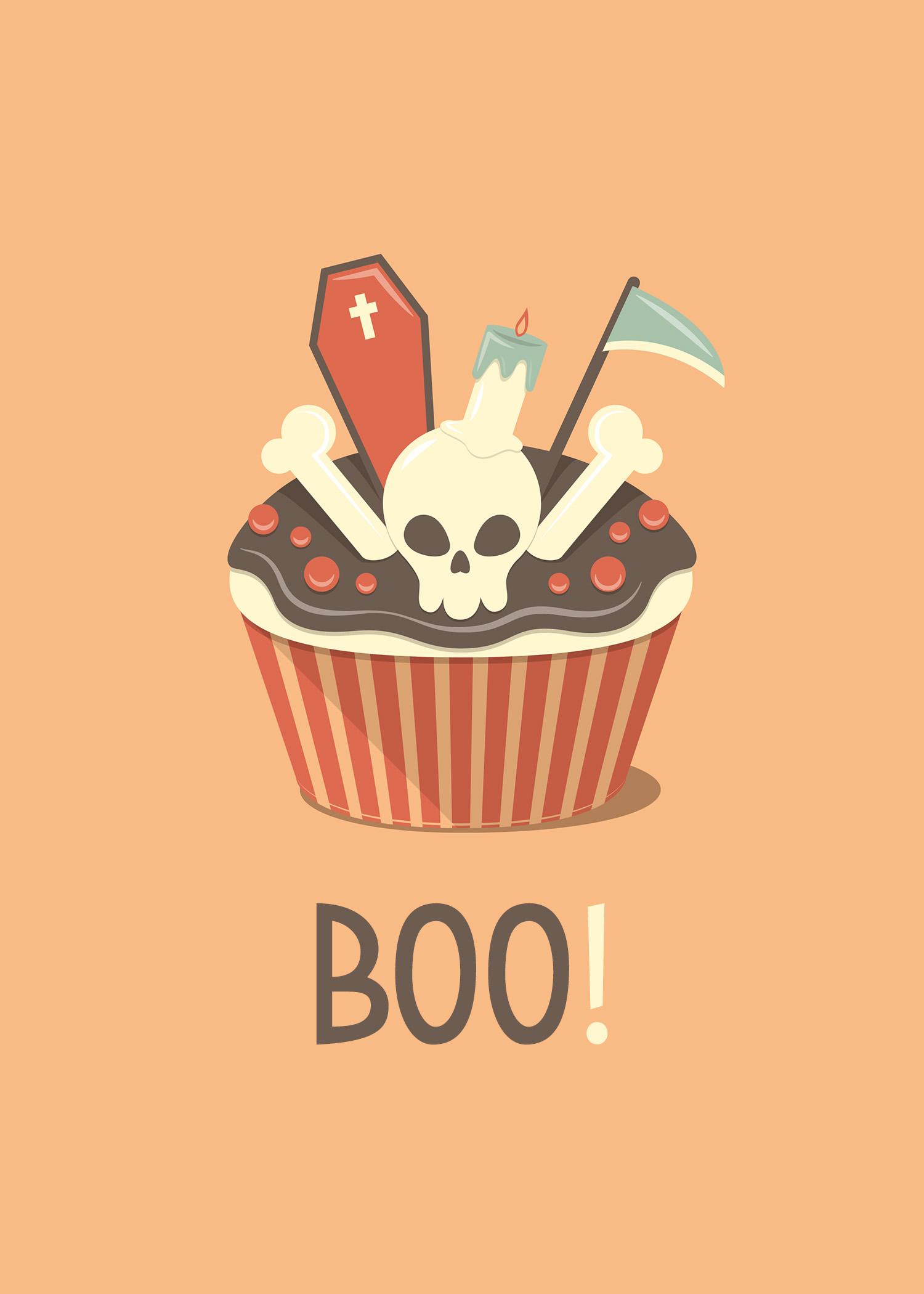 Free Printable Halloween Cupcake Prints The Cottage Market