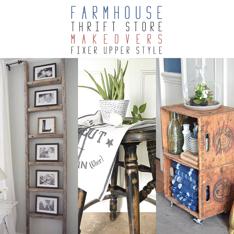 10 Farmhouse Thrift Store Makeovers Fixer Upper Style The Cottage Market