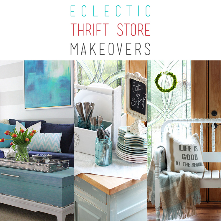 Eclectic Thrift Store Makeovers
