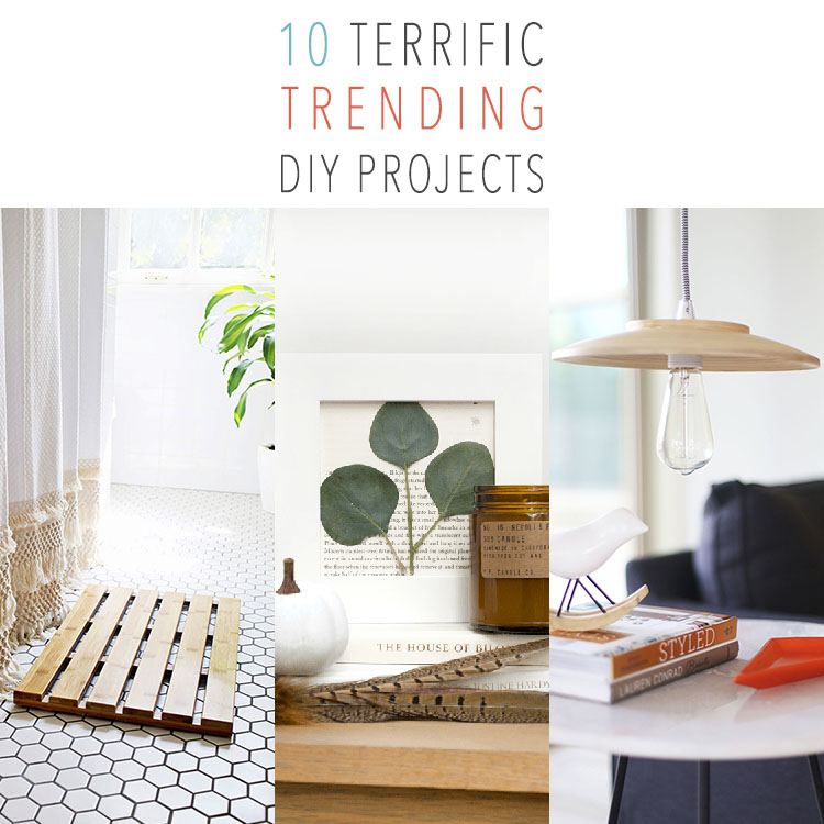 10 Terrific Trending DIY Projects
