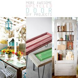 10 More Awesome Upcycled Door DIY Projects