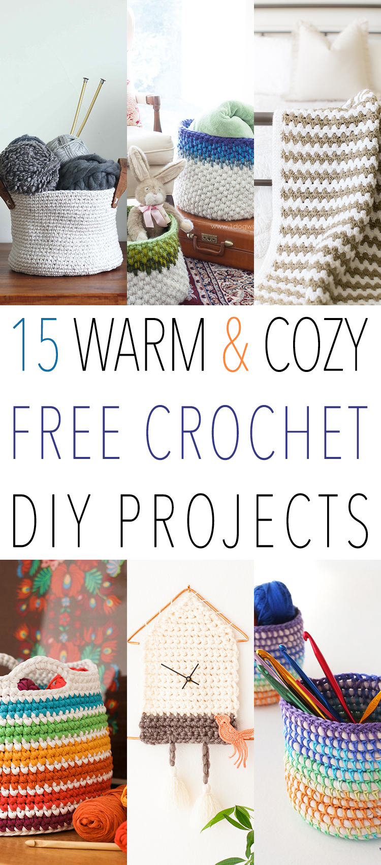 Free Diy Projects 15 Warm And Cozy Free Crochet Diy Projects The Cottage Market