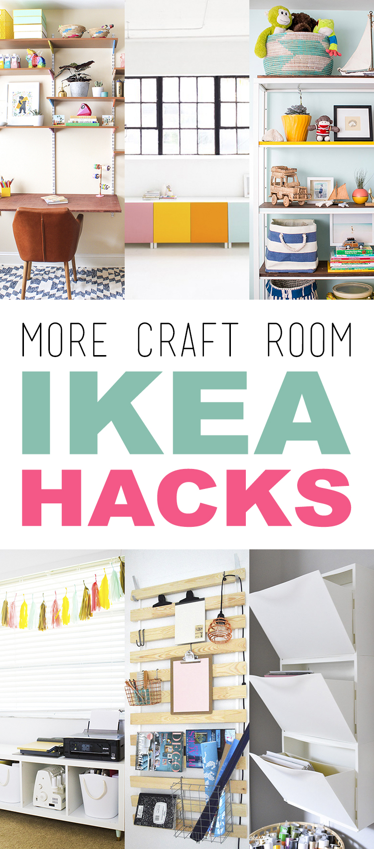More Craft Room Ikea Hacks The Cottage Market