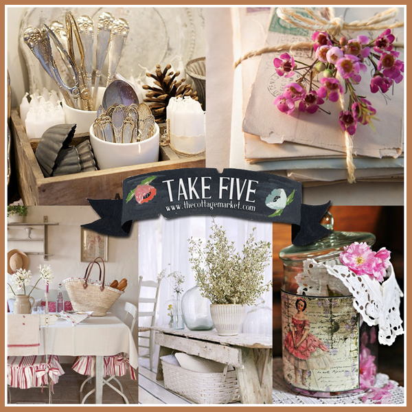 Take 5: A little Vintage Style Cottage Face life