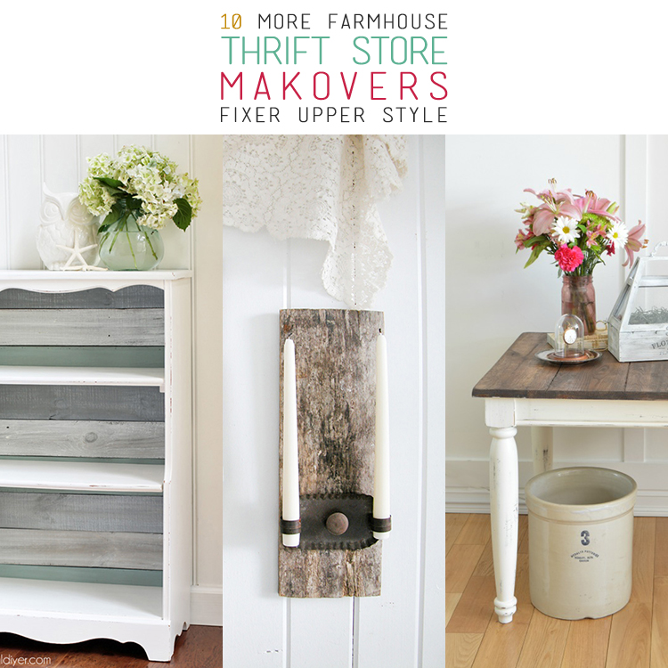 Thrift Store Makeovers Fixer Upper Style