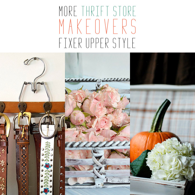 More Farmhouse Thrift Store Makeovers Fixer Upper Style