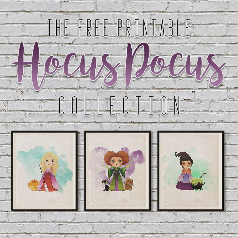 The Free Printable Hocus Pocus Collection