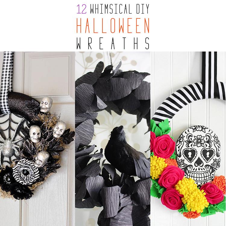 12 Whimsical DIY Halloween Wreaths