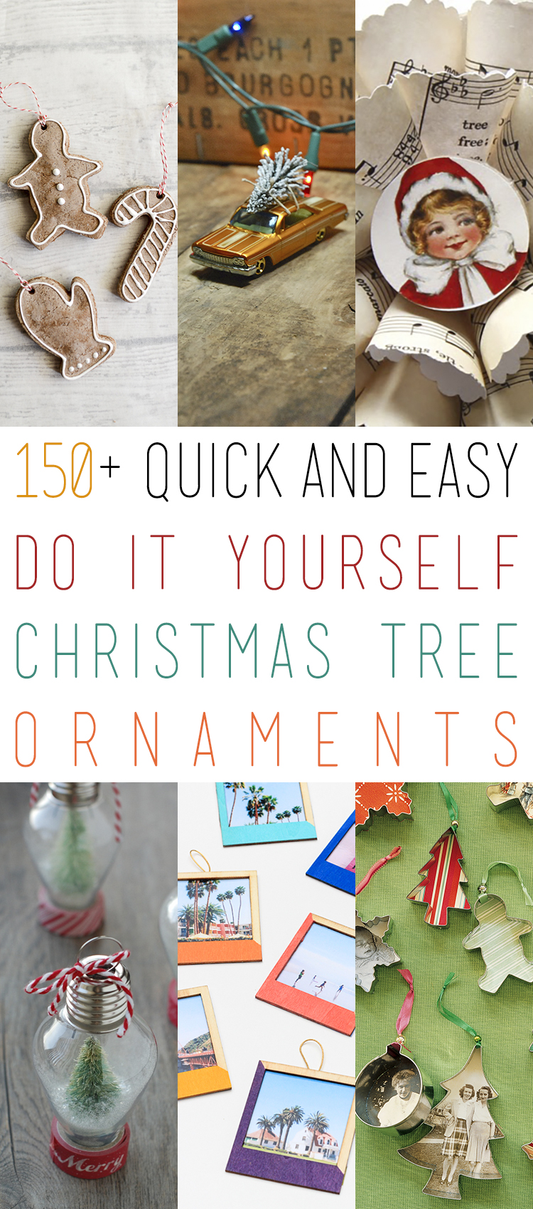 150 quick and easy diy christmas tree ornaments the cottage market 150cto solutioingenieria Image collections