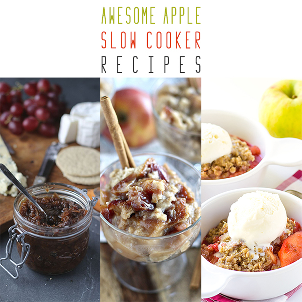 Awesome Apple Slow Cooker Recipes
