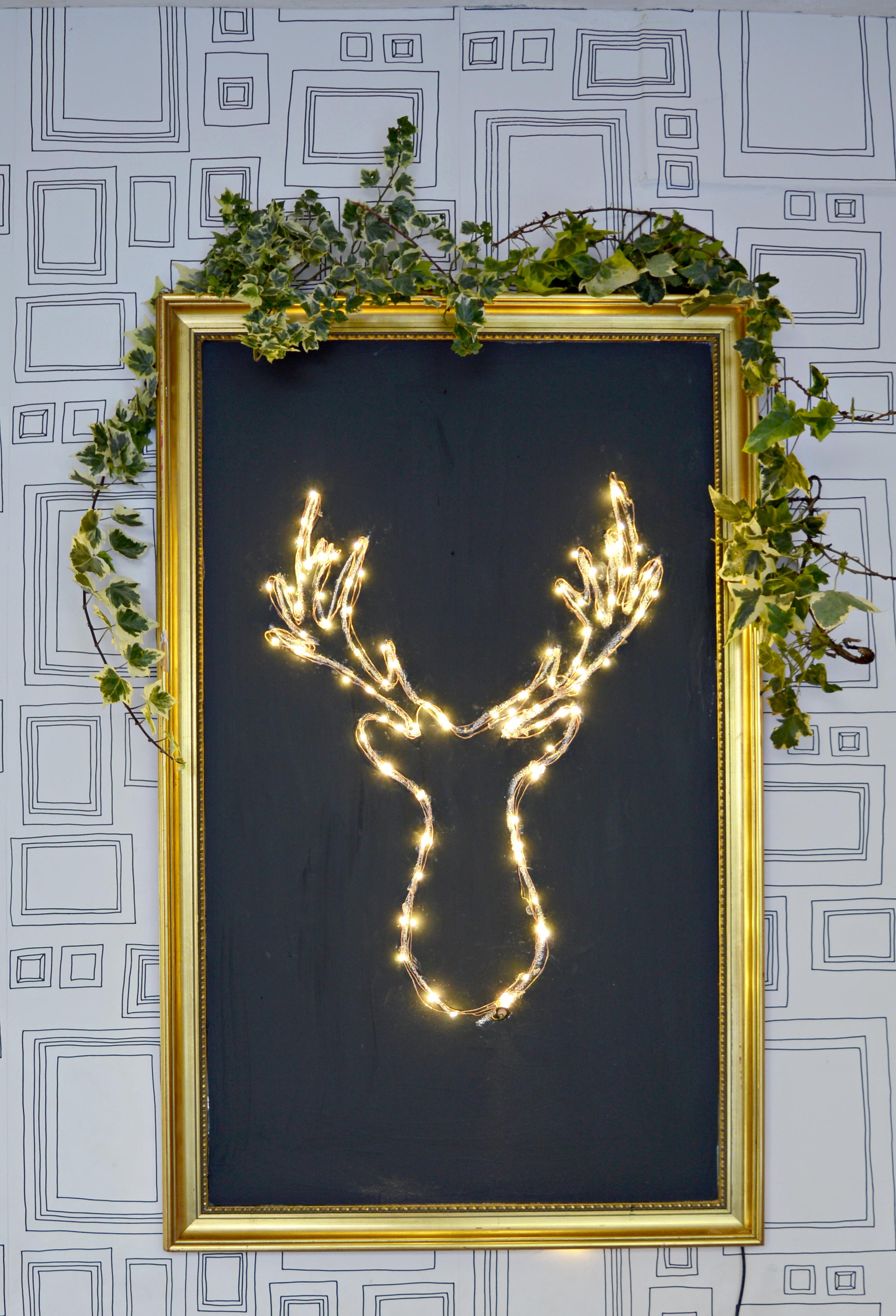 DIY-Led-deer-head-Christmas-decoration-