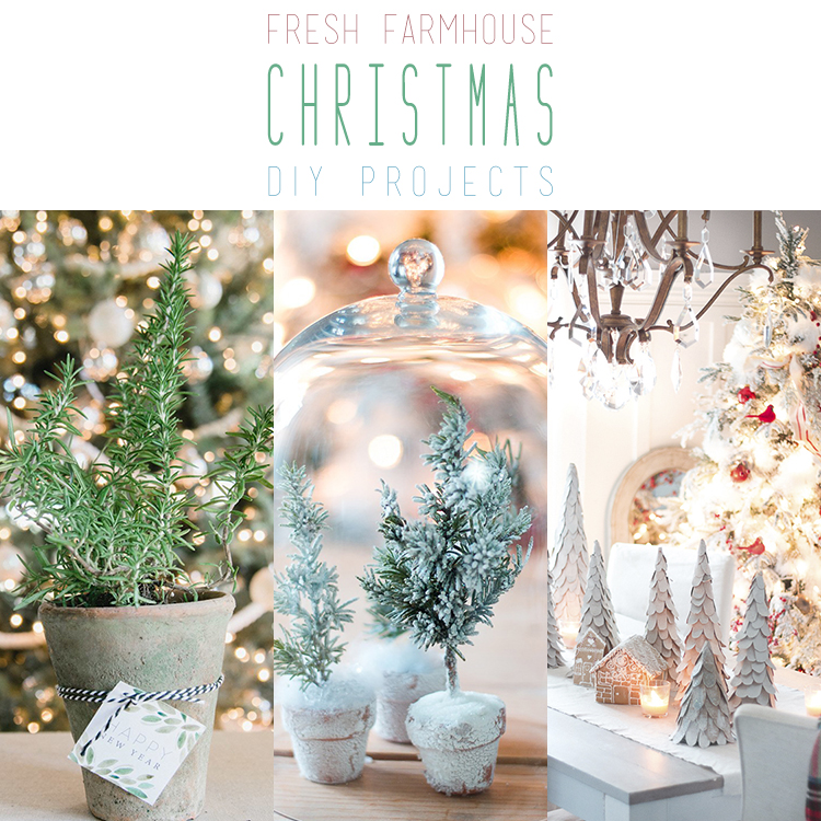11 fresh farmhouse christmas diy projects the cottage market