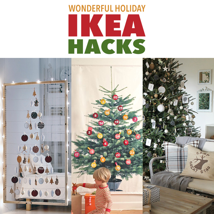Wonderful Holiday IKEA Hacks
