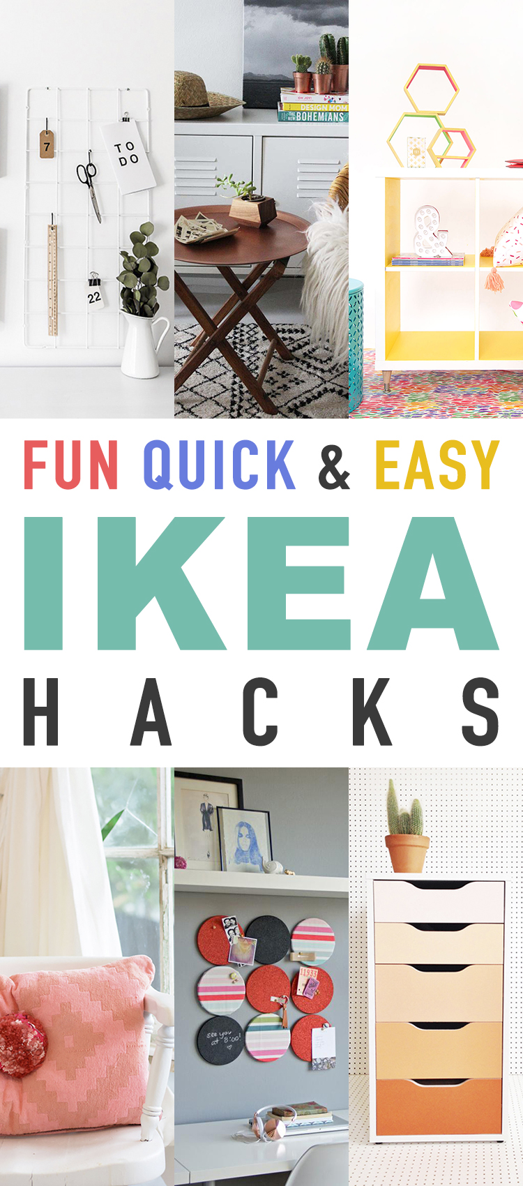 Fun Quick And Easy Ikea Hacks The Cottage Market