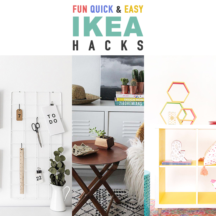 Fun Quick and Easy IKEA Hacks